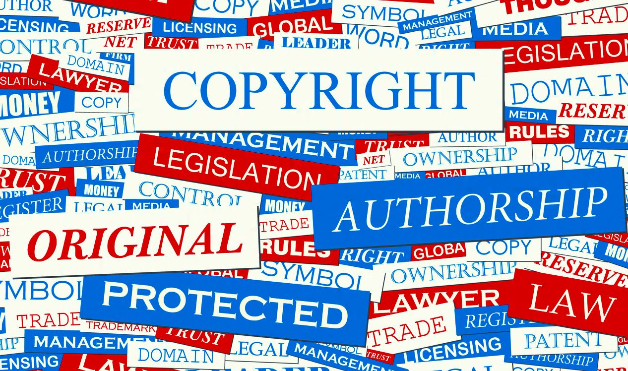 register and protect copyrights